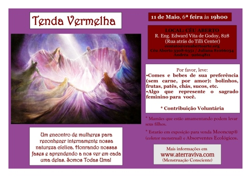 TENDA VERMELHA - MAIO 2012